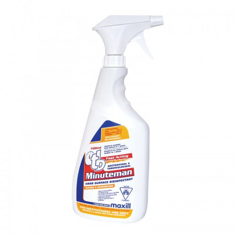 tb Minuteman - 700 mL Spray Bottle Unscented - (ARRIVED)