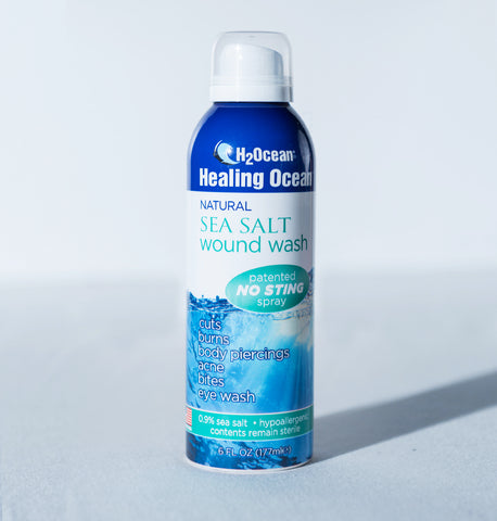 6oz Healing Ocean Sea Salt Wound Wash