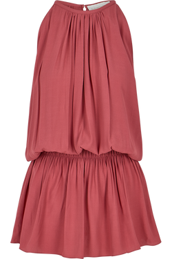 Carina Smock Dress- Adobe