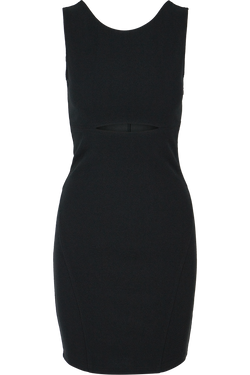 Ava Cutout Dress- Black