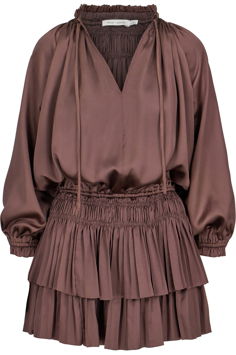 Andi Mini Dress-Bronze