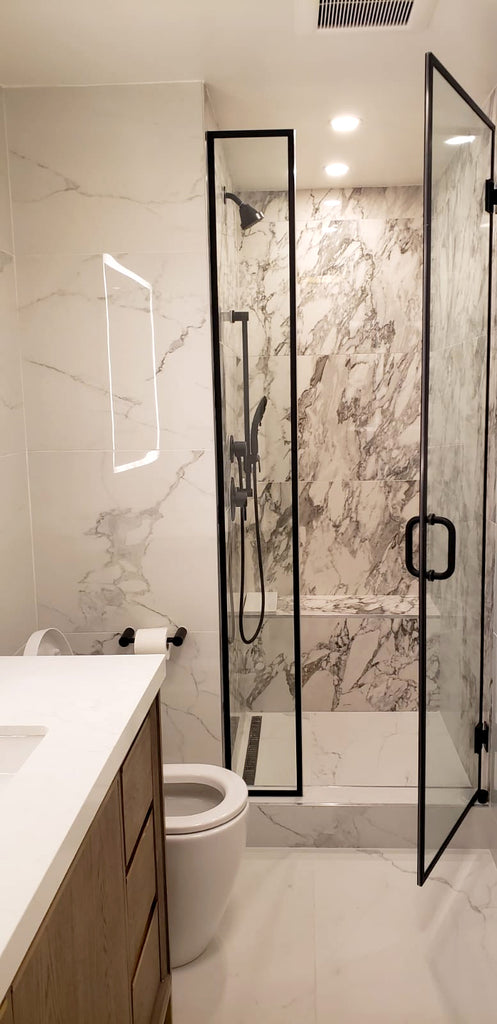 GlobalHome Interior Design-Tribeca Boy's Bathroom