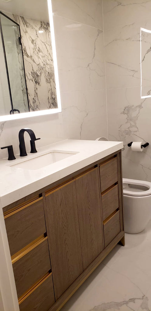 Global Home Interior Design- Tribeca Boy's Bathroom