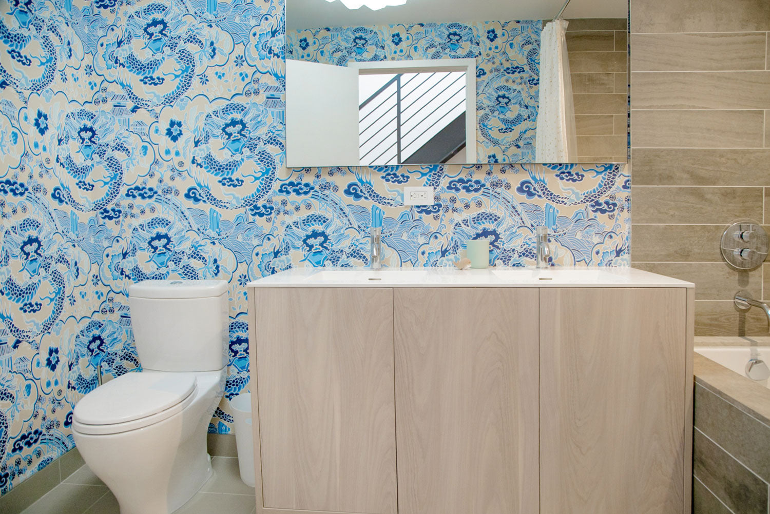 Global Home Interiors-Red Hook Brooklyn Townhouse-Boy's Bathroom