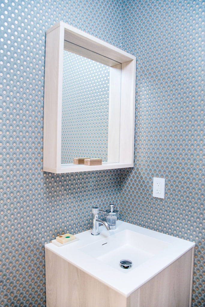 Global Home Interiors-Red Hook Brooklyn Townhouse-Guest Bathroom