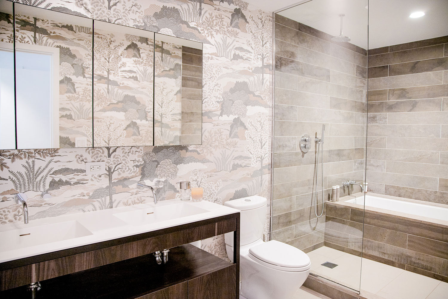Global Home Interiors-Red Hook Brooklyn Townhouse-Master Bathroom