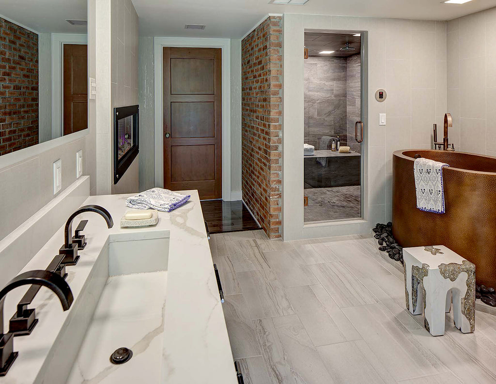 Global Home Interior Design-Blairstown Main Bathroom