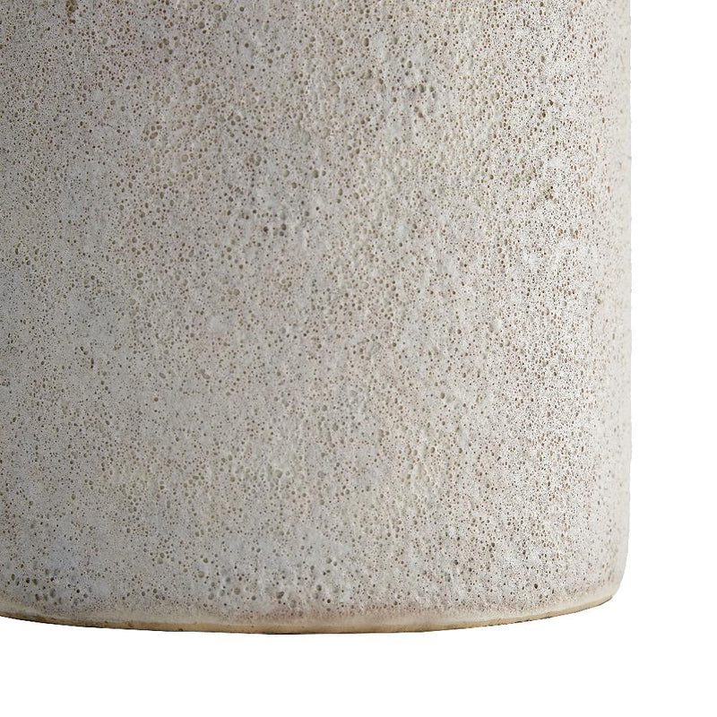 Volcanic Glaze Ivory Lamp - Lamp - Global Home