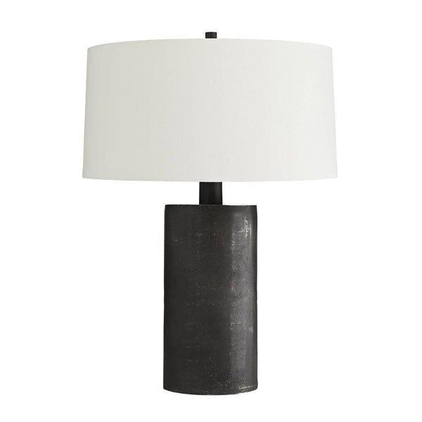 Black Aluminum Table Lamp - Lamp - Global Home