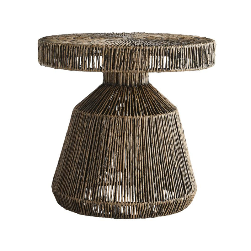 Organic Banana Leaf Side Table - Tables - Global Home