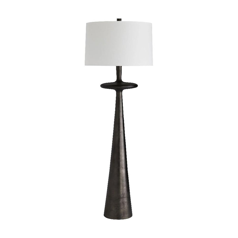 Tapered Cone Base Floor Lamp - Lamp - Global Home
