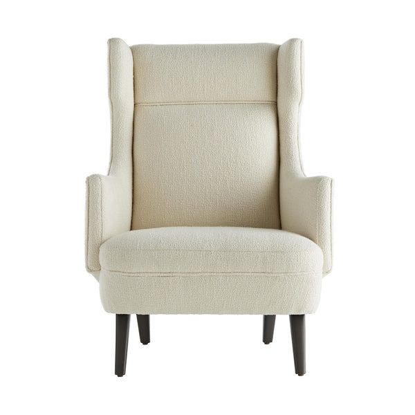 Modern Wing Chair in Boucle - Seating - Global Home