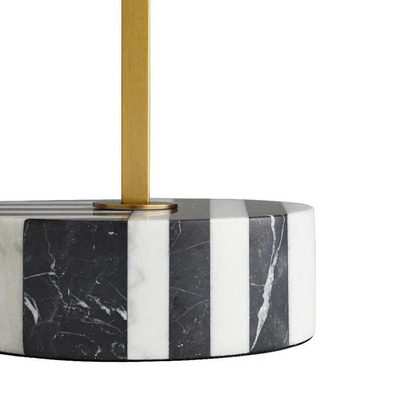 Black Marble Side Table - Tables - Global Home