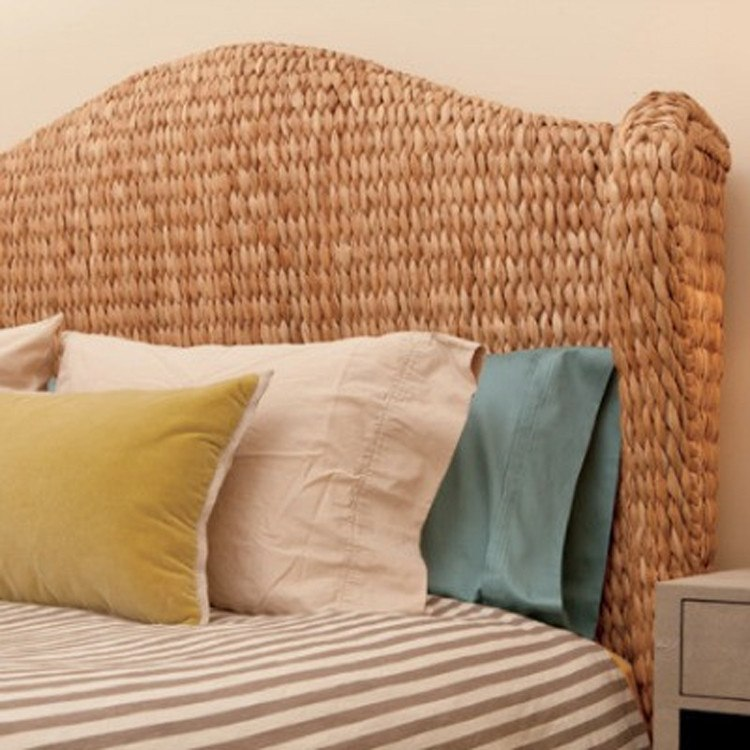 Briana Seagrass HeadBoard - Bedroom D'©cor - Global Home