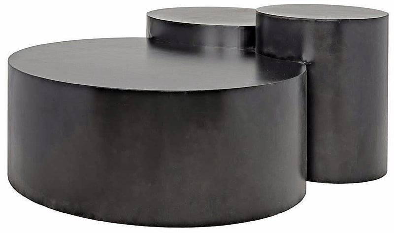 Modern 3-Column Coffee Table - Coffee Table - Global Home