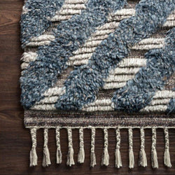 Malta Layered Pile Wool Rug - 5 Sizes - Rugs - Global Home