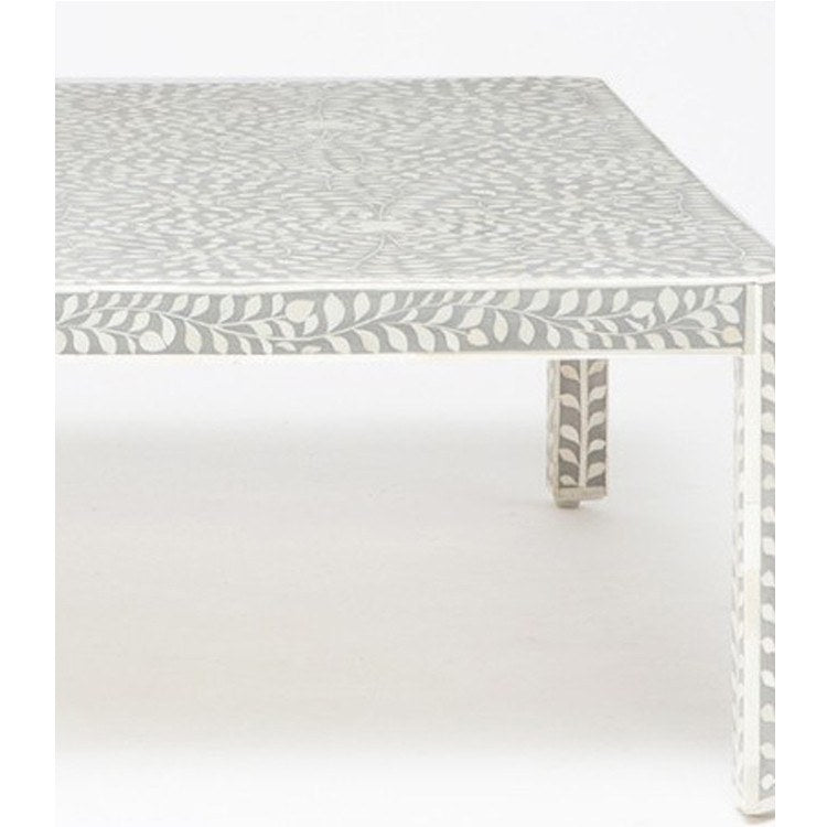 Luxor Coffee Table-Grey - Tables - Global Home