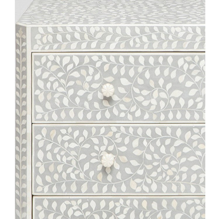 Luxor Dresser-Grey - Storage - Global Home