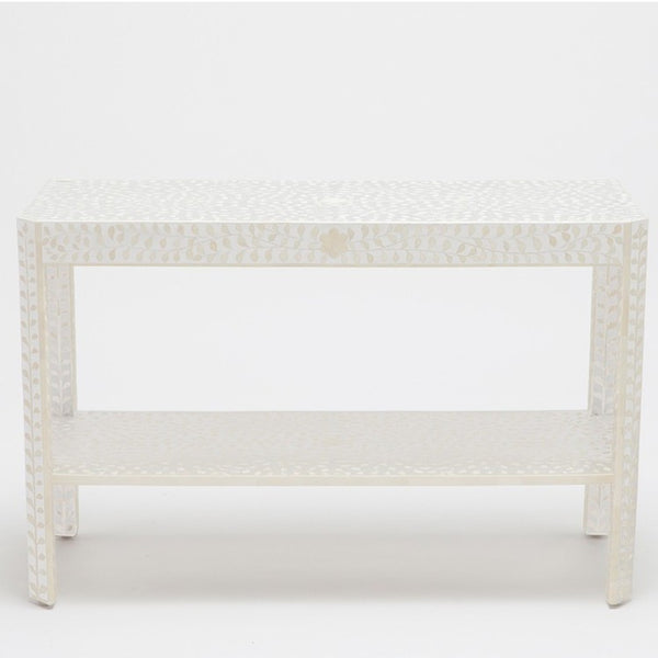 Luxor Console-White - Tables - Global Home