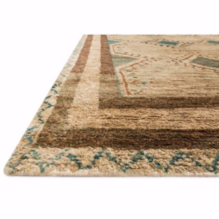 Pasargad Ny Persian Hand Knotted Wool Light Blue Ivory: Aqua Verde Rug At Global Home