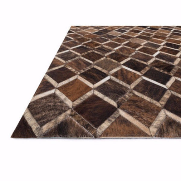 Burnt Umber Inlay Rug - Rugs - Global Home
