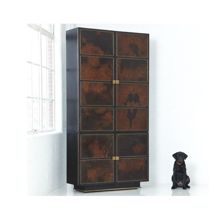Royale 4 Door Tall Cabinet - 2 Finishes - Storage - Global Home