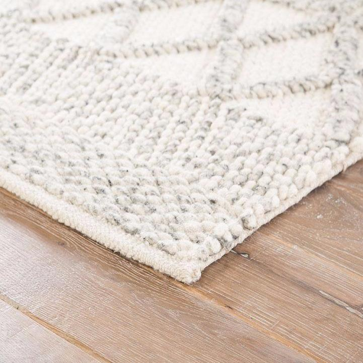 Cross Knit Wool Rug - Rugs - Global Home