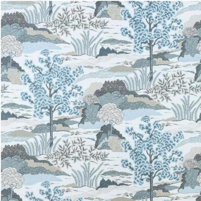 Daintree Wallpaper - 6 Colors - Fabrics - Global Home