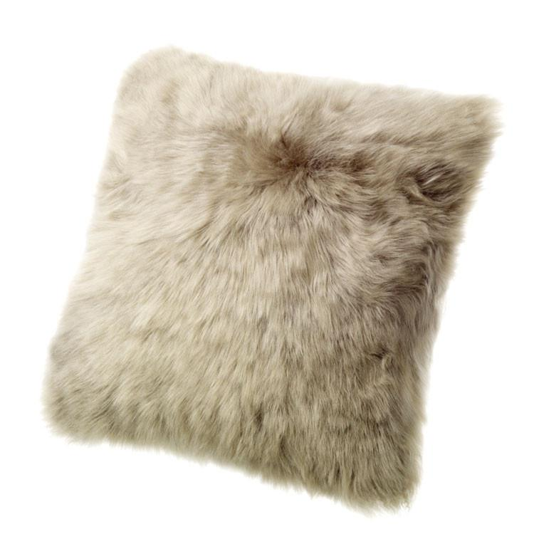 "Sheepskin Pillows- 32"" Square - Pillow - Global Home"