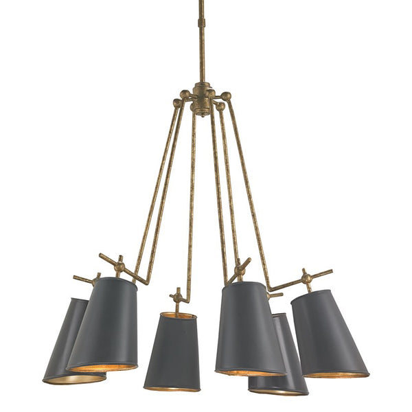 Task Light Chandelier - Lighting - Global Home