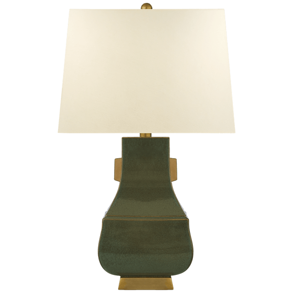 Ceramic Qing Table Lamp - Four Colors - Lighting - Global Home