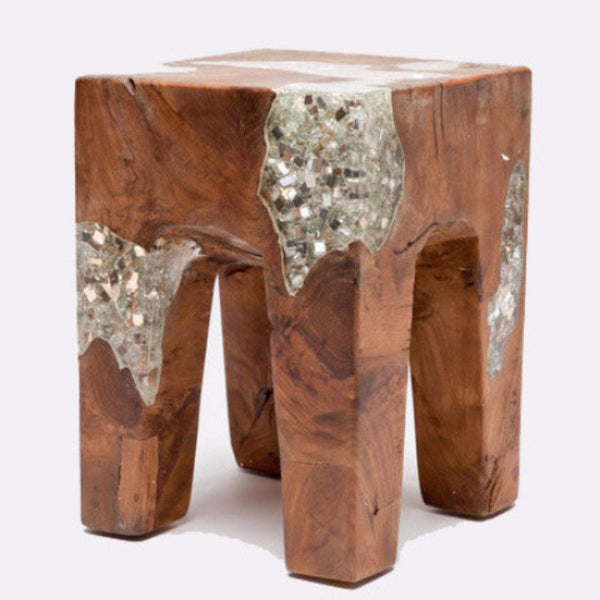 Corbis Stool - 2 Finishes - Seating - Global Home