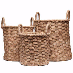 Ceres Baskets Set/3 - Objects - Global Home