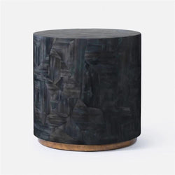 Dark Horn Side Table - Tables - Global Home