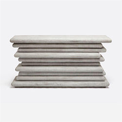 Stacked Concrete Console Table - Console - Global Home