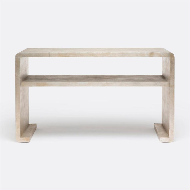 Waterfall Textured Console Table - 2 Colors - Console - Global Home