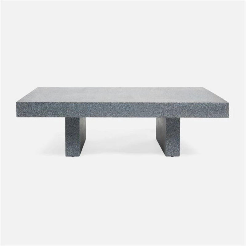 Volcanic Sand Coffee Table in Blue- 2 sizes - Coffee Table - Global Home