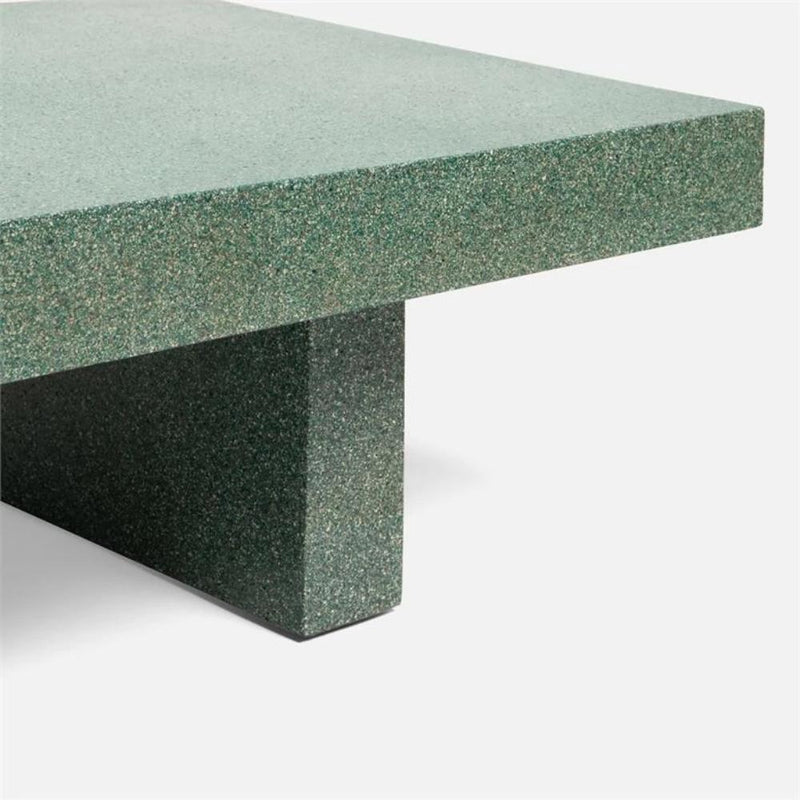 Volcanic Sand Coffee Table in Green - 2 sizes - Coffee Table - Global Home