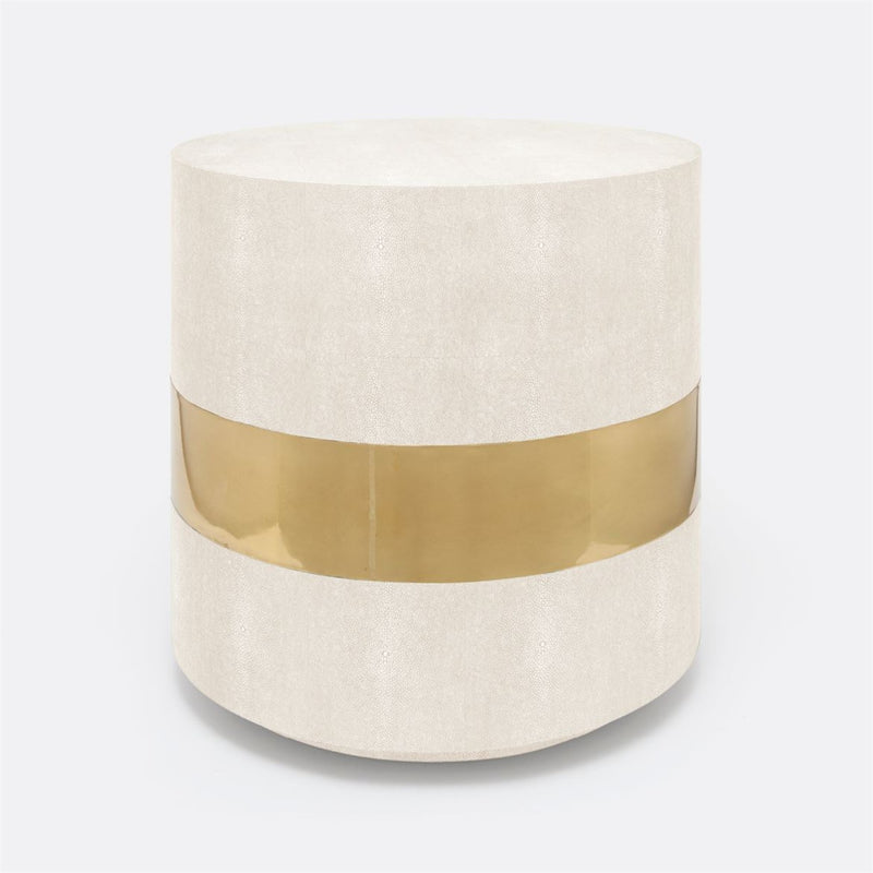 Maxine Side Table-Snow