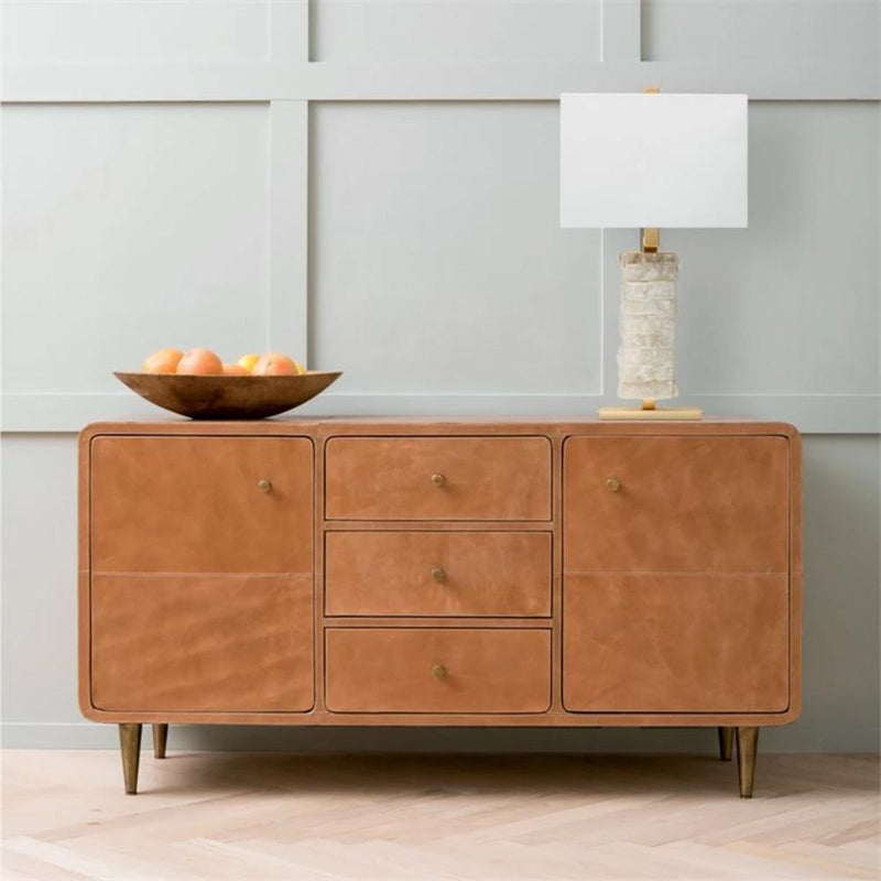 Leather Buffet - Storage - Global Home
