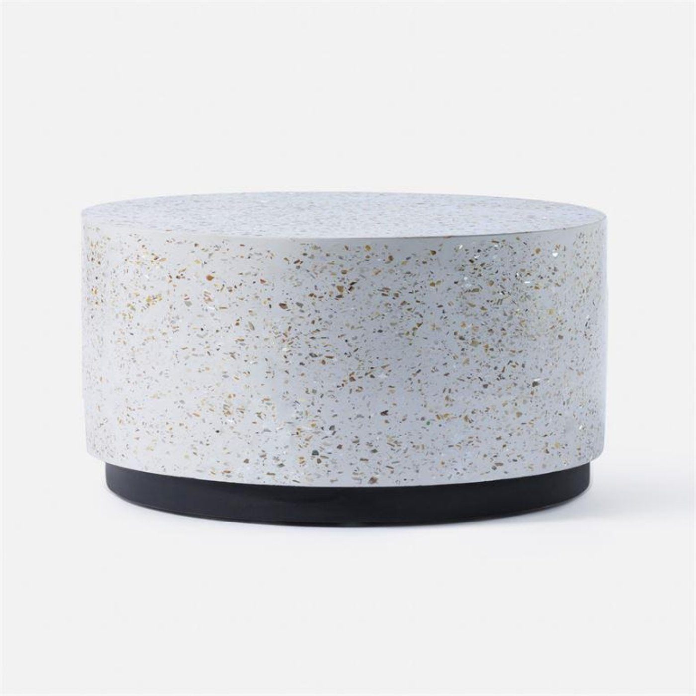 Round Terrazzo Coffee Table Global Home
