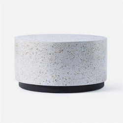 Round Terrazzo Coffee Table - 2 Colors - Coffee Table - Global Home