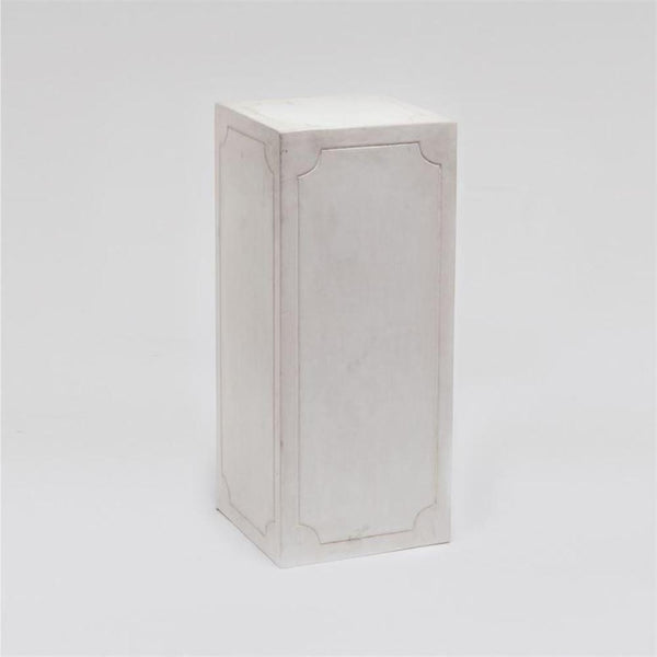 Classic Concrete Pedestal - 2 Sizes - 2 Colors - Objects - Global Home
