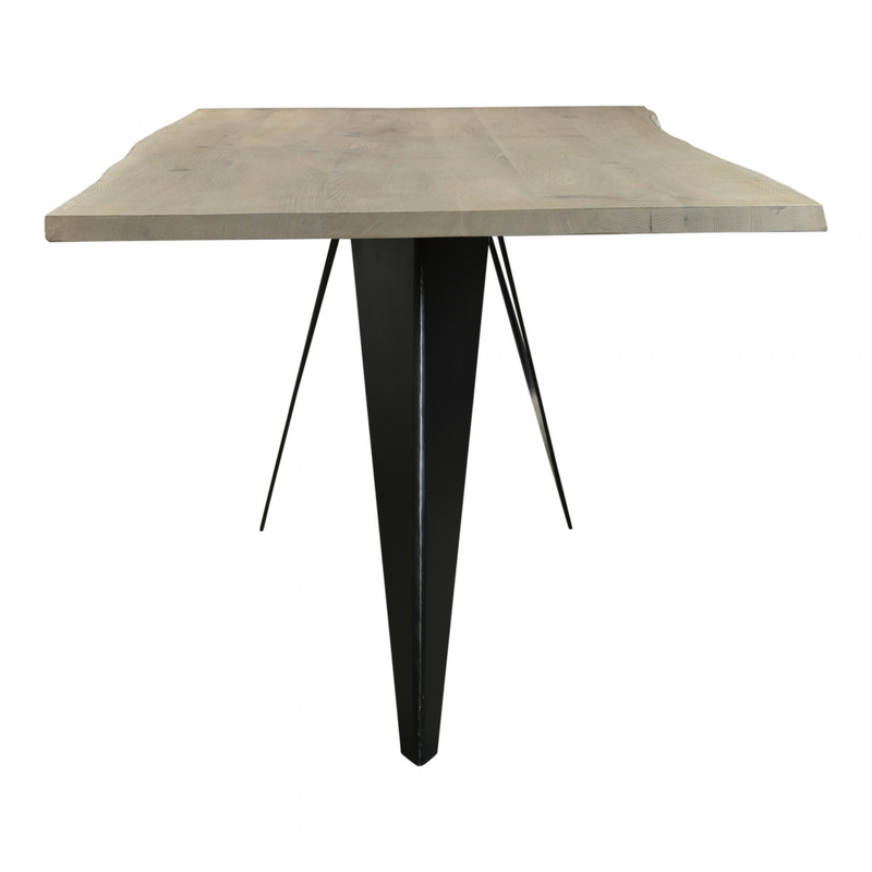 Solid Oak Crane Dining Table - 2 Sizes - Dining Table - Global Home