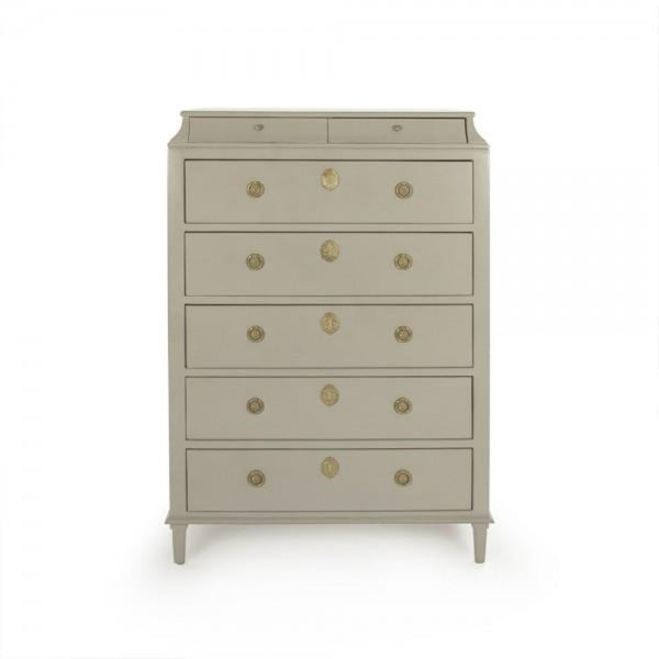 Gustavian Chest of Drawers - Dresser - Global Home