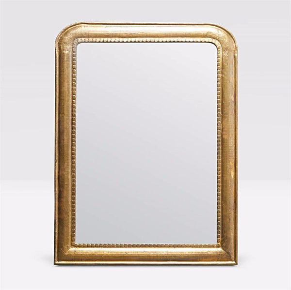 French Arc Gold Leaf Mirror - Mirror - Global Home