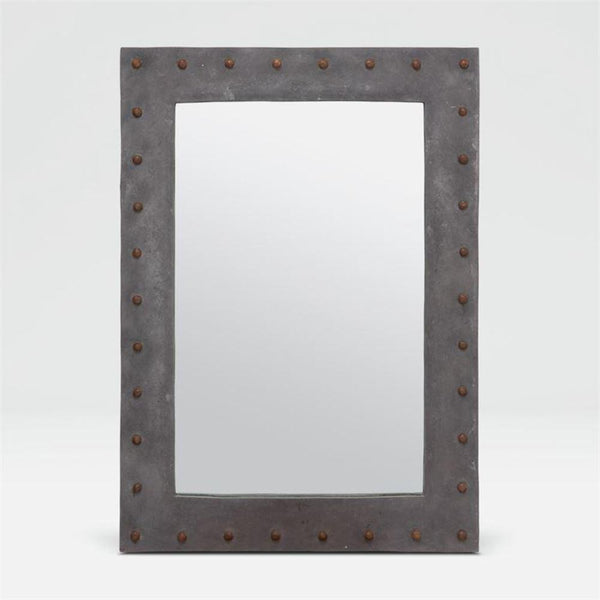 Stone Studded Mirror - Mirror - Global Home