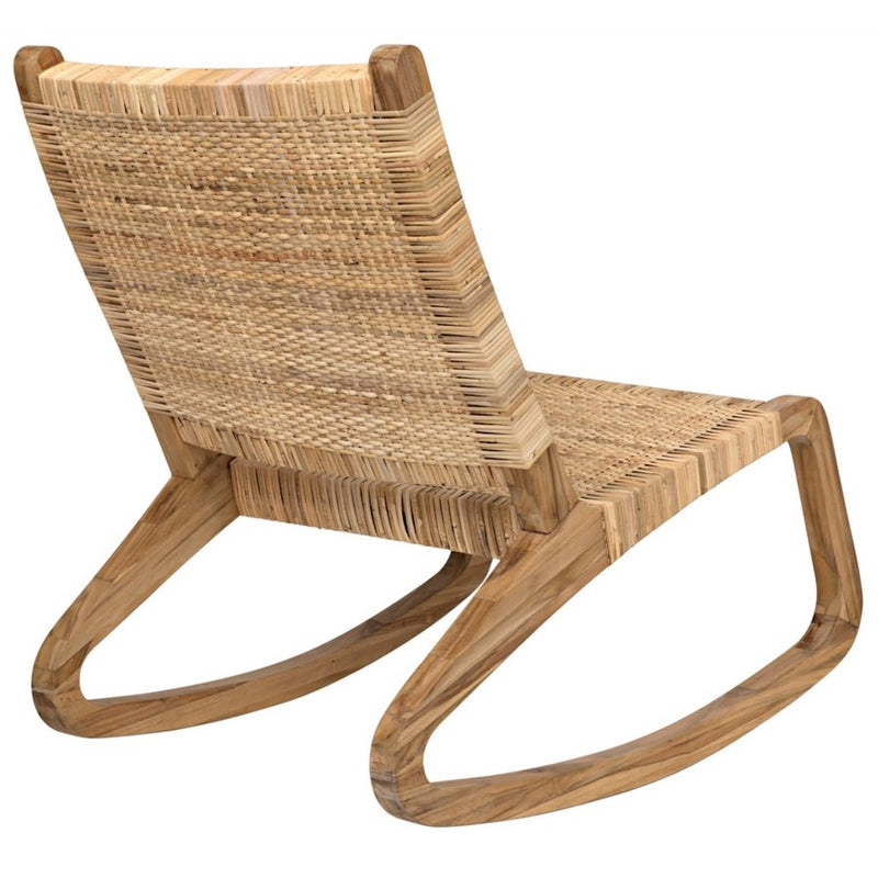 Teak Rocking Chair - Seating - Global Home
