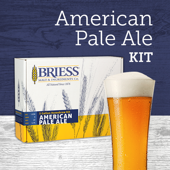 American Pale Ale Ingredient Package BRIESS