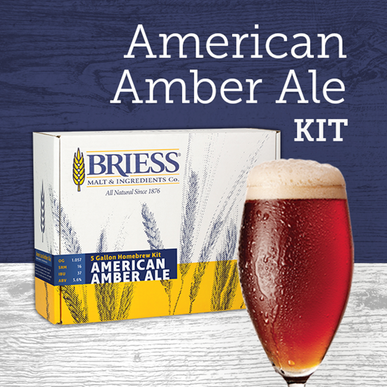American Amber Ingredient Package BRIESS